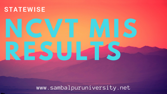 NCVT MIS Results