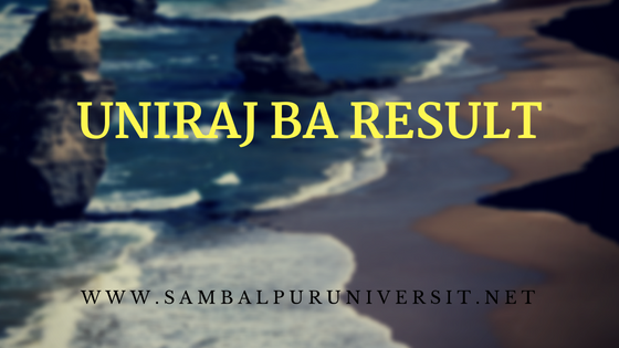 UNIRAJ Result BA part 3