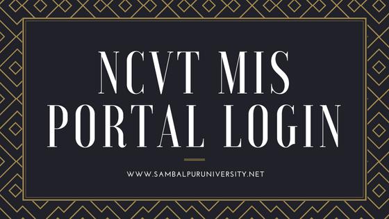 ncvt mis portal login