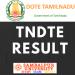 tndte result