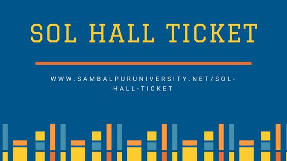 sol hall ticket