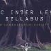 BSSC Inter Level Syllabus
