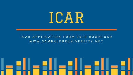 ICAR Application Form