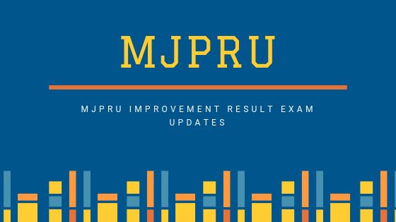 MJPRU Improvement