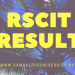 RSCIT Result
