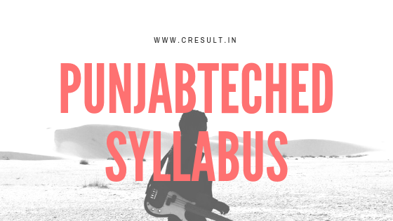Punjabteched Syllabus