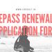 ePass Renewal Application Form
