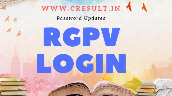 RGPV login