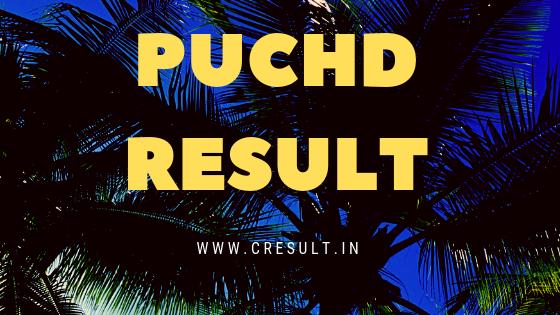 PUCHD Result