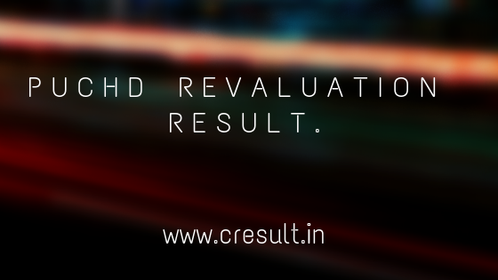 PUCHD Revaluation result