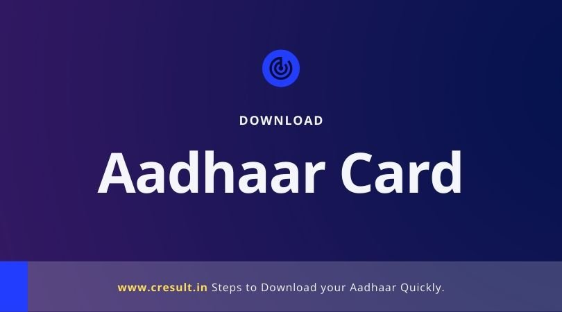 Aadhaar Card Download