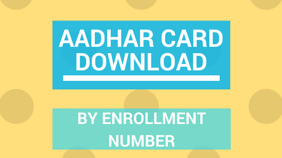 aadhar Card by Aadhar No